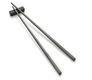 Palillos chinos de metal