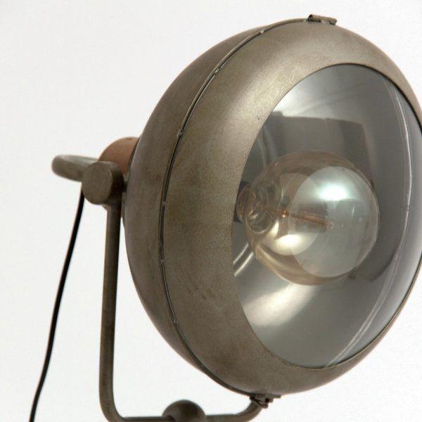detalle lampara estilo indistrial