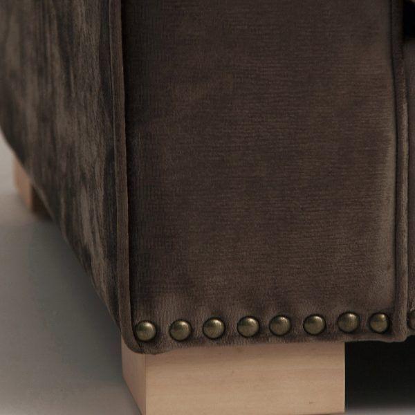 detalle acabado sofa pula