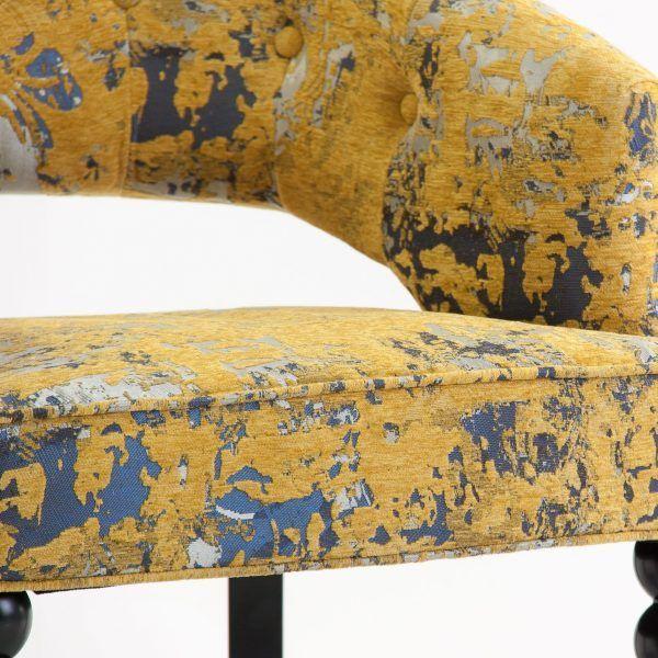 detalle tapizado sillon dieppe