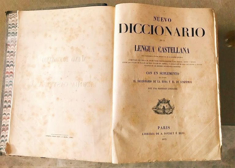Diccionario antíguo