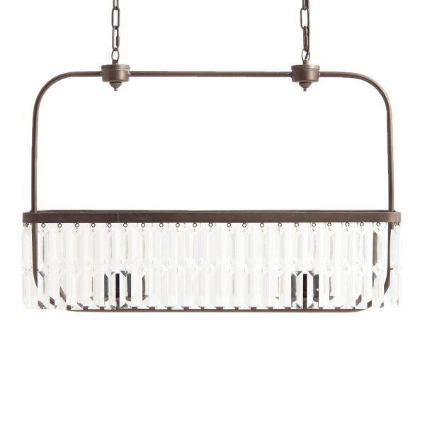 detalle lampara de techo vintage