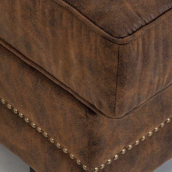 detalle tapizado chaise longue dalen
