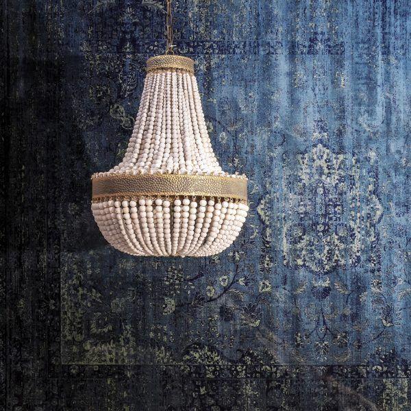 alfombra mirta con lámpara