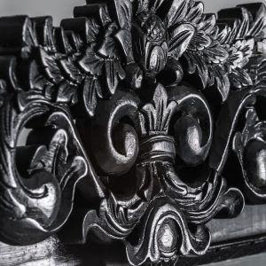 detalle espejo tallado negro provenzal