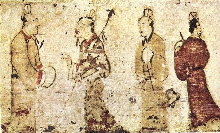Antiguo dibujo chino