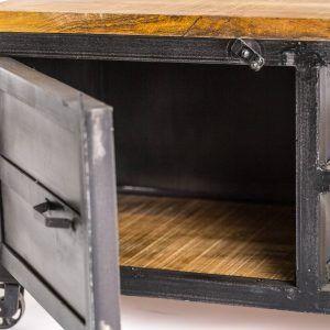 detalle puerta mueble tv laun