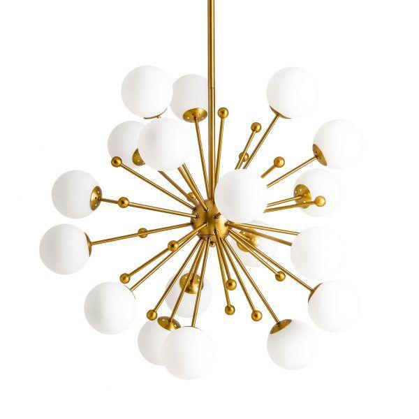 lampara de techo bolas