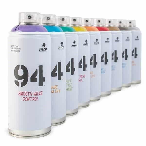 Sprays de la marca Montana