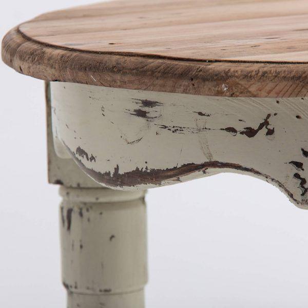 detalle madera mesa centro denber