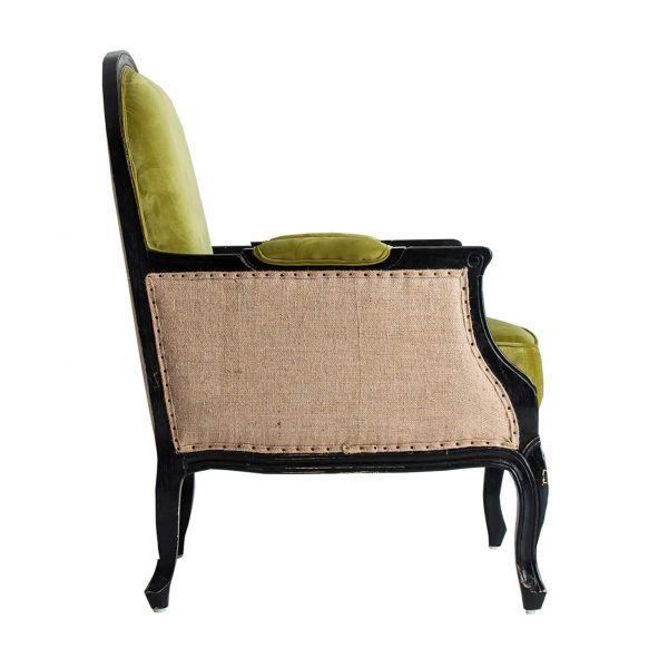 lateral sillón johvi verde