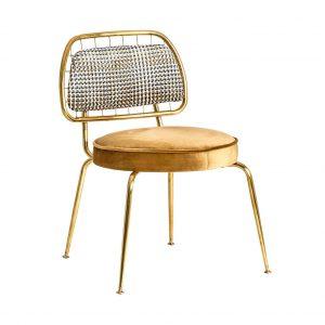perfil silla brillon acero