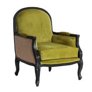 perfil sillón johvi verde