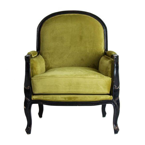sillón johvi verde
