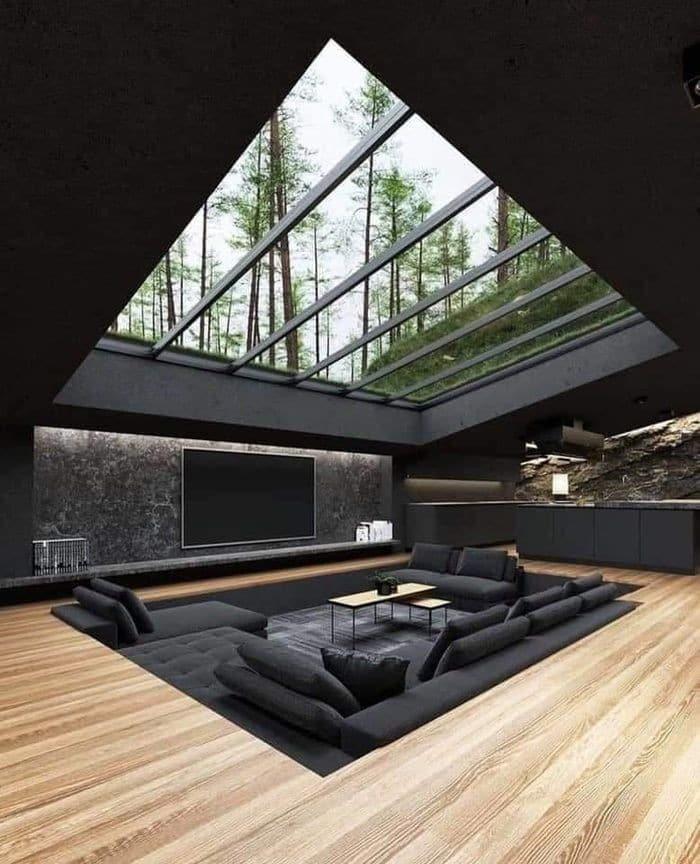 Casas de montaña de diseño con una cuidada decoración interior 5