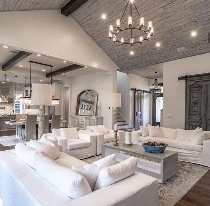 Casas de montaña de diseño con una cuidada decoración interior 6